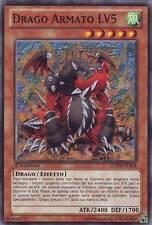 Drago Armato LV5 YU-GI-OH! LCYW-IT204 Ita COMMON 1 Ed.