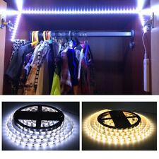 Battery Powered 5V LED Strip Lights PIR Motion Sensor TV Backlight Cabinet Lamps