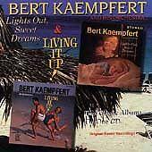 SEALED 2 LPs on 1 CD: Lights Out, Sweet Dreams Living It Up! by Bert Kaempfert