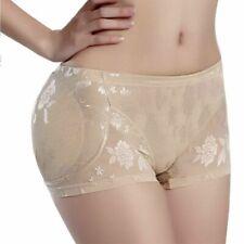 Women Butt Seamless Hip Enhancer Body Shaper Push Up Padded Panties Underwear US