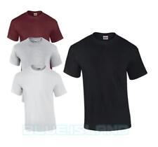 Gildan Heavy Cotton T Shirt para Hombre Mujer Workwear Llano Colores Camiseta Blanco Gris