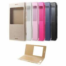 Handy Hülle Case #M50 zu SONY XPERIA XZ1 Fenster Schutz Tasche Smartphone Flip