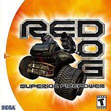 Red Dog: Superior Firepower (Sega Dreamcast, 2000) -Complete