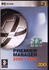 PC CDROM • Premer Manager 2006 2007 • SIGILLATO ITA