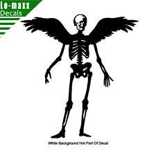 Winged Skeleton Reaper High Quality Various Sizes & Colors Die Cut Vinyl Decal