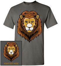 Majestic Lion Head T-Shirt, Men Women Youth Kid Tank Long Personalize Custom Tee
