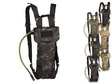 Mil-tec auspiciador Pack láser cut 2,5l botella de agua trinkbeutel TUBO P. BEBER