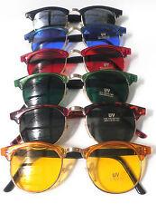 Karneval Retro Sonnenbrille 80erJahre Vintage Farbauswahl  UNISEX Sonnenbrillen