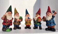 Garden ornament - Choice of 5 gnomes - garden or home decoration
