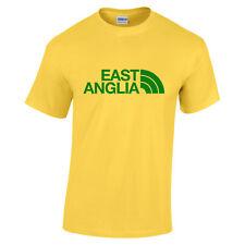 Norwich City Osten Anglia gelb T-Shirt Fußball Fächer Geburtstagsgeschenk