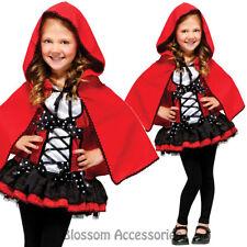 CK631 Sweet Red Riding Hood Teen Girls Book Week Fancy Dress Up Costume Outfit