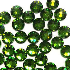 Fern green (291) cristal Swarovski 2058/2088 Flatback no-hotfix strass ss34