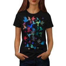 Origami Bird Art Women T-shirt S-2XL NEW | Wellcoda