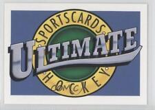 1991-92 #1 Ultimate Hockey Card