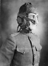 Photo. ca 1918. Airplane Pilot - Oxygen Mask