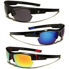 Khan Men's Sport Sunglasses Cycling Baseball Ski Driving Wrap Around Glasses