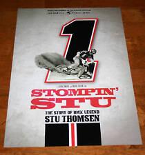 STOMPIN STU MOVIE POSTER OLD SCHOOL BMX SE REDLINE DG