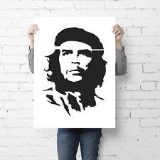 Banksy Che Guevara Stencil Graffiti style replica wall painting - Ideal Stencils