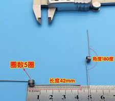 10Pcs Wire Dia 0.6mm OD 5.0mm 5 Coils 180 Degree Torsion Spring