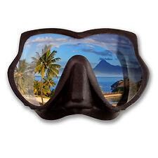 2 X 10 Cm Scuba Diver Máscara Vinilo Autoadhesiva De Laptop de buceo PADI de buceo Regalo # 6293