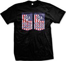 United State of America USA Flag World War Champions 1918 1949 Mens T-shirt