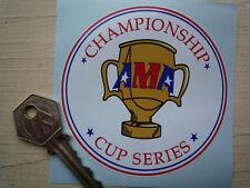 Ama Campeonato Cup Series Super Motos Motorcyle pegatina 85mm Bicicleta Carrera Racing