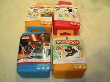 Shuffle Hasbro  Kartenspiel in Plastikbox verschiedene Spiele  NEU OVP