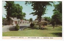 Leahy's Motel Memphis Tennessee postcard