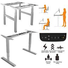 Tischgestell Schreibtisch Elektrisch Höhenverstellbar für Büro & Homeoffice