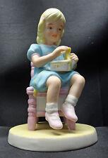 Abbie's Children Figurine Princess Roman Porcelain Abigail Williams Girl 1984