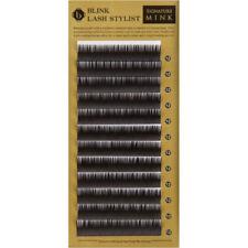 BL (BLINK) D Curl 0.15 Signature Mink Eyelash Extensions Tray