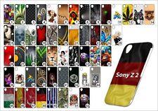 Handy Hülle Sony Xperia  Z 2  Hardcase Schutzhülle Handyhülle Case  Hülle Motive