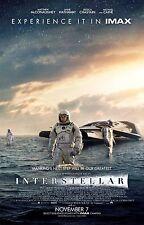 Interstellar Movie POSTER 2  - VARIOUS SIZES - UK SELLER - SCI-FI