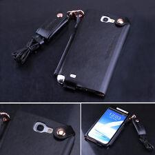 Neuf Cuir De Luxe étui poche étui pour Samsung Galaxy Note II 2 N7100 7 Couleurs
