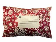 """Taille 25 Rouge 2 sacs de poste courrier de diffusion 250x350mm 10x14 /""""FREE P/&P"""