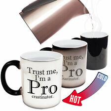 Funny Mugs Trust Me Im A Procrastinator Gift Christmas MAGIC NOVELTY MUG