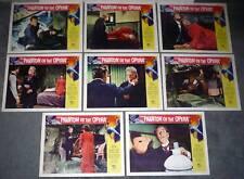 THE PHANTOM OF THE OPERA original 1962 lobby card set HAMMER/HERBERT LOM