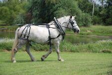 USA made granite SINGLE horse drawn DIAMOND parade harness with hames