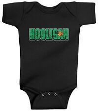 Threadrock Baby Boys Hooligan Infant Bodysuit St. Patricks Day Shamrock Clover