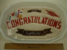 """Pantastic Pan """"Congratulations"""" Baking Form- Make Cakes, Jellos at Home! USA!"""