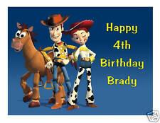 Toy Story Jessie & Woody cake image cake topper