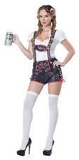 Oktoberfest Fraulein Flirty Lederhosen Tavern Bar Maid Swedish Adult Costume