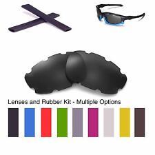 Walleva Vented  Lenses and Earsocks for Oakley Split Jacket -Multiple Options