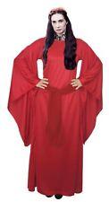 Da DONNA LADY Melisandre Costume Donna Rossa SIGNORE DELLA LUCE Costume da strega