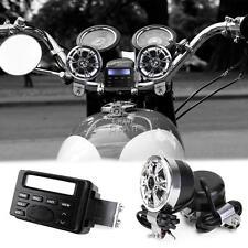 Audio Radio Handlebar MP3 For Honda VT Shadow Spirit Velorex Deluxe 600 750 1100