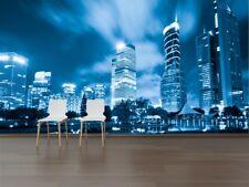 3D Scienza Città 2·Parete Murale FotoCarta da parati immagine sfondo muro stampa