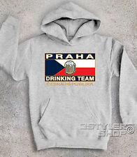 FELPA BAMBINO CON STAMPA PRAHA DRINKING TEAM PRAGA BIRRA CULT