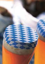 100x Paper Punta Cubierta de la copa Cerveza Cobertor DrinkSafe Oktoberfest