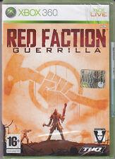Red Faction Guerrilla Xbox 360 Sigillato 1a Stampa Italiana Con Manuale
