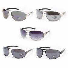 XLoop Aviator Sunglasses for Men - Casual Fashion Shades - Metal Frame